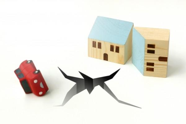 【車両保険】地震の場合